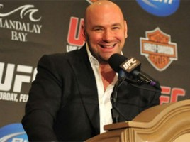 dana white smile