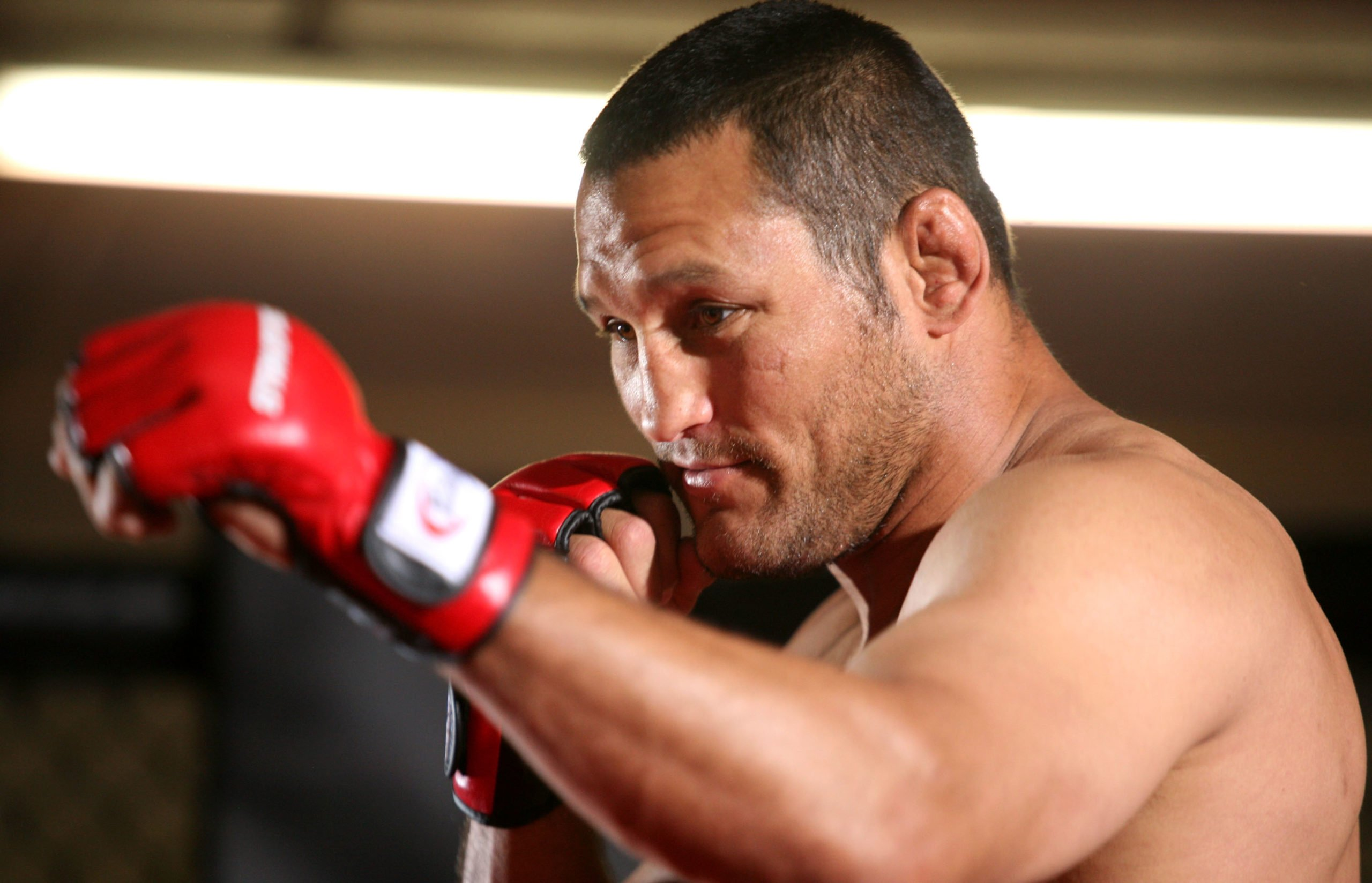 CBS' Strikeforce MMA Fighters Open Media Workout