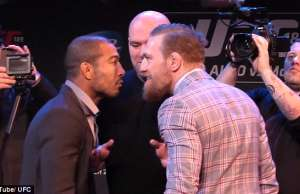 conor mcgregor jose aldo ufc 194