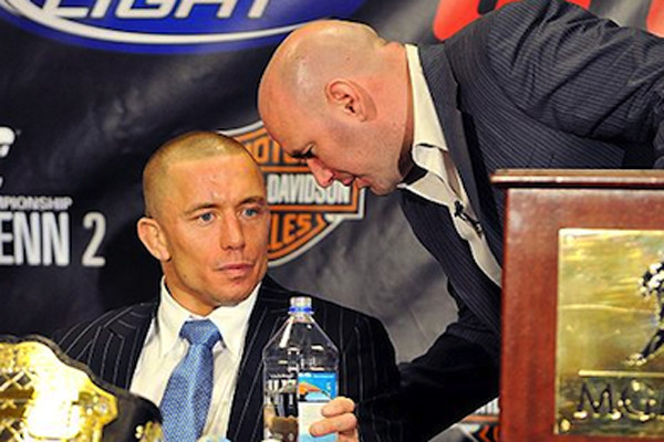 UFC Issues Statement, Claims GSP Is Not A Free Agent