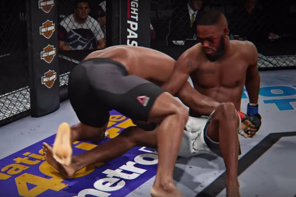 EA Sports UFC 2 grappling (EA Sports YouTube Channel)