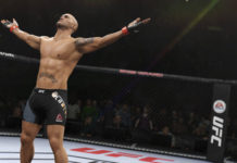 Robbie Lawler in EA Sports UFC 2 (Image courtesy EA Sports)