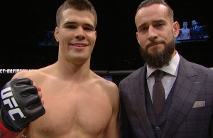 Mickey Gall & CM Punk (UFC Fight Pass)