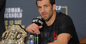 UFC Confirms Opponent For Luke Rockhold's First UFC Middleweight Title Defense