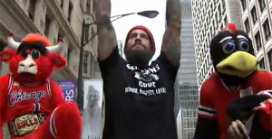 Video: CM Punk Dances With Mascots To Promote UFC On FOX 20