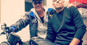 Photos: Jean Claude Van Damme Working Out With Nick & Nate Diaz
