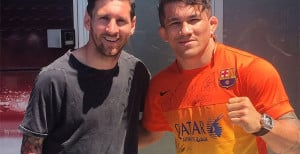 Soccer Star Lionel Messi Refuses To Face-Off With Former UFC Fighter For A Photo