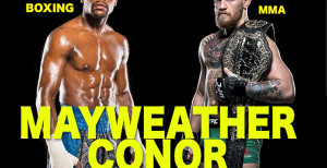 Floyd Mayweather Announces Pay-Per-View Fight Against UFC Champion Conor McGregor