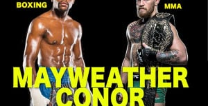 Floyd Mayweather Posts New Unofficial Poster For Boxing Match Against Conor McGregor
