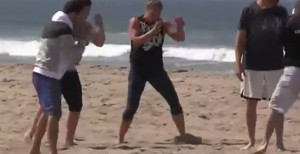 Video: Ronda Rousey Prepares For UFC Comeback With Beach Workout