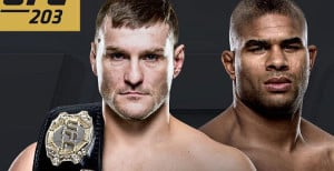Stipe Miocic vs. Alistair Overeem For Heavyweight Title Headlines UFC 203 In Cleveland