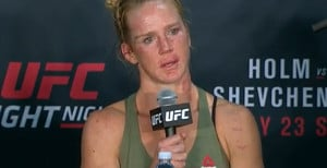 Video: Holm On Second Loss In A Row, Shevchenko Talks Big Win At UFC On FOX 20 Presser