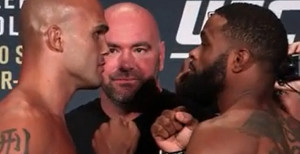Video: UFC 201: Lawler vs. Woodley Weigh-In Results