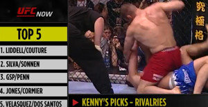 Video: Kenny Florian & Demetrious Johnson Rank Top 5 Rivalries In UFC History
