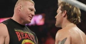 Report: Brock Lesnar In Real Fight With Chris Jericho Backstage At WWE SummerSlam