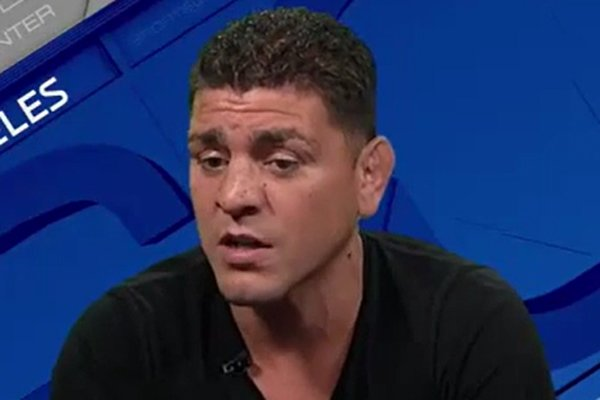 nick diaz on anderson silva steroids