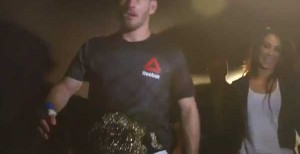 Video: Miocic Takes Fans Through Werdum KO, Backstage After Winning Title
