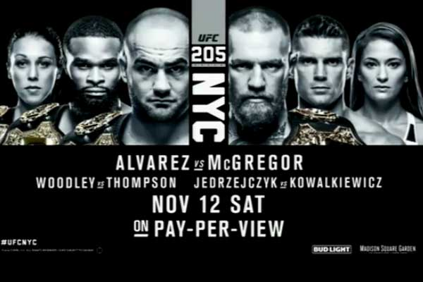 UFC 205 Results