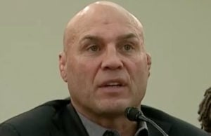 Randy Couture at MMA Congressional hearing