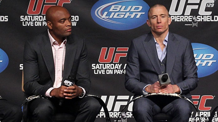 Georges St-Pierre Anderson Silva