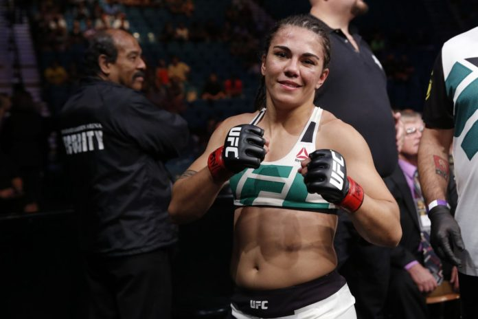 Jessica Andrade Controls Tecia Torres On Way To Decision Win