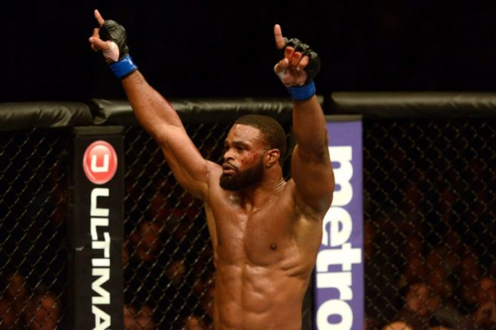 Tyron Woodley Din Thomas