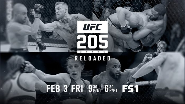 UFC 205 Reloaded to Air This Friday Night (Feb. 3) on FOX Sports 1