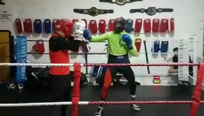 Conor McGregor Releases Boxing Sparring Footage On Social Media