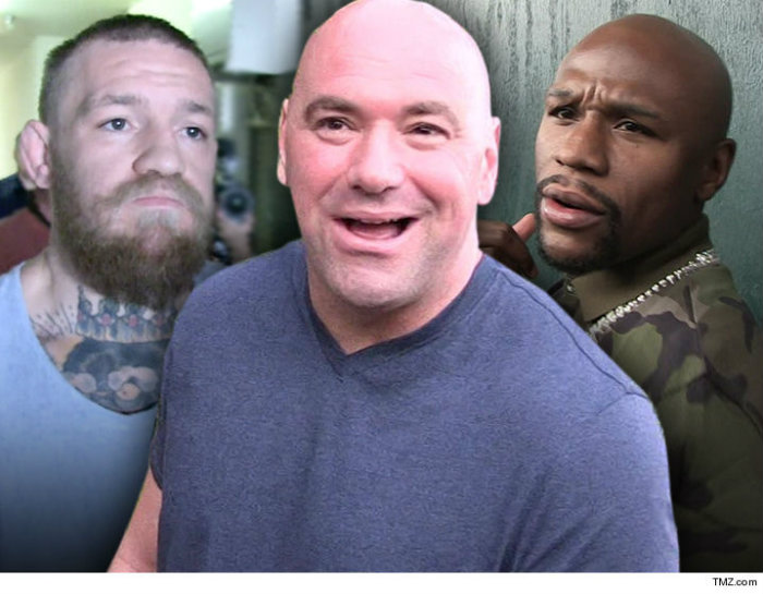 Dana White Rejects Claims of Date For Conor McGregor vs Floyd Mayweather Jr.