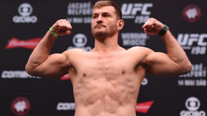 Stipe Miocic Holding Off on Cain Velasquez Fight Due to Contract Dispute