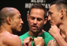 Jose Aldo Max Holloway Reebok