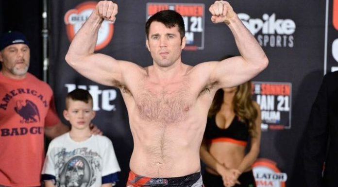 Chael Sonnen Weigh-In
