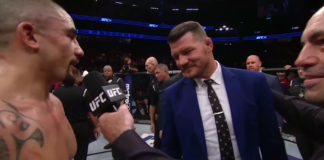 Michael Bisping Robert Whittaker