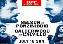UFC Fight Night 113 Weigh-in Results Bonuses