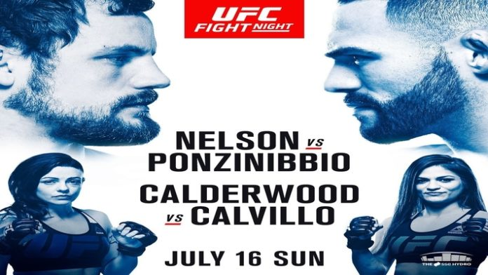 Santiago Ponzinibbio knocks Gunnar Nelson cold in 1:22