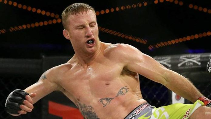 Justin Gaethje sticks patented backflip on third try following TKO