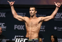 Luke Rockhold weigh-in