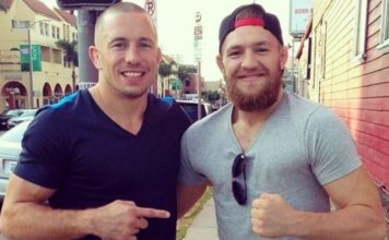 Conor McGregor Georges St-Pierre