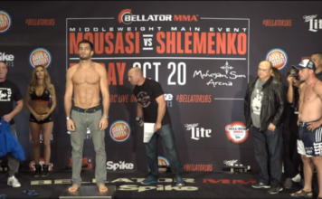 Bellator 185 Weigh-ins