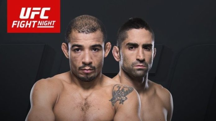 Jose Aldo added to UFC Fight Night card in December