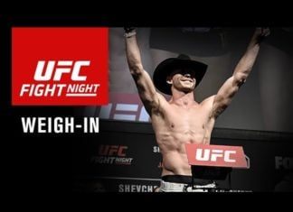 UFC Fight Night 118 Ceremonial Weigh-ins