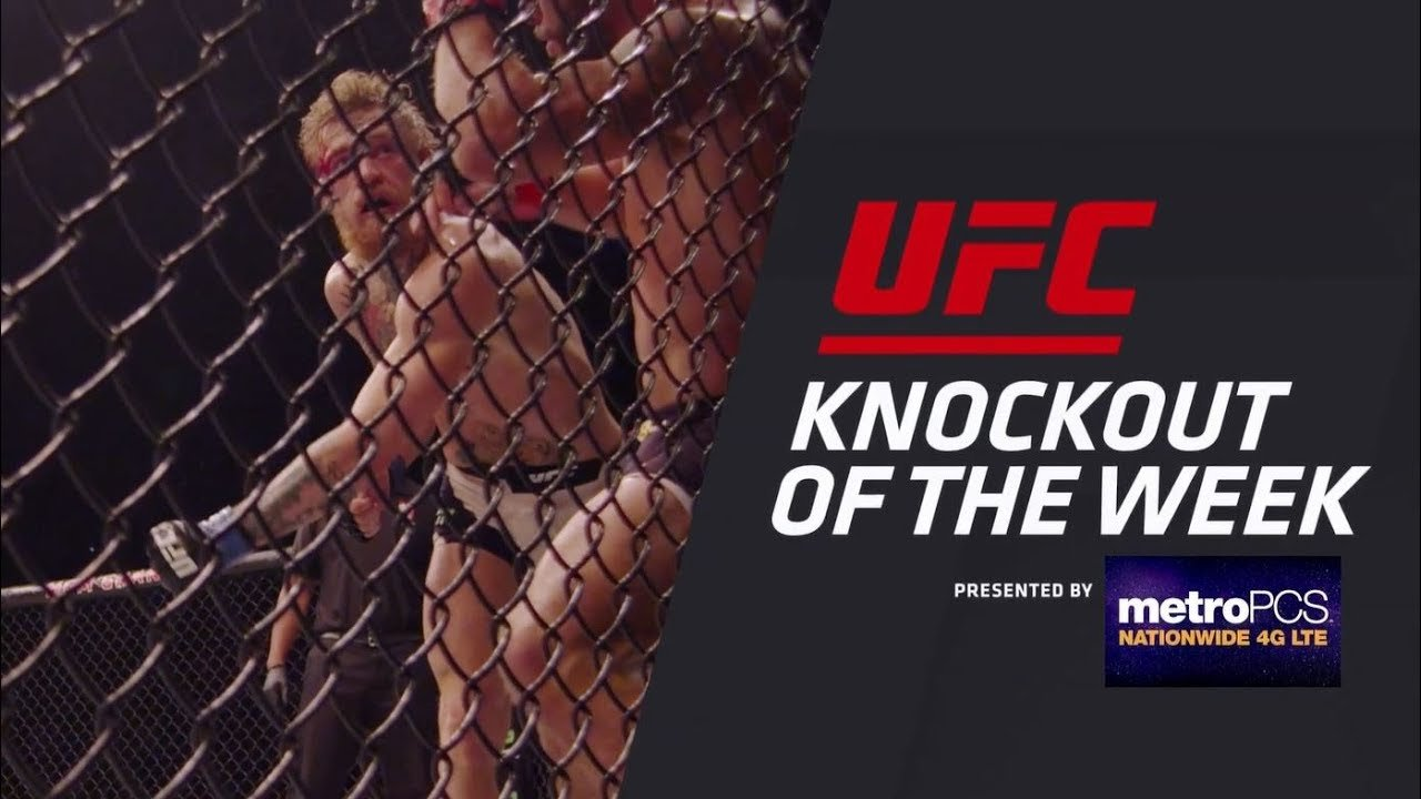 ufc ko of the week dustin poirier cracks bobby green video