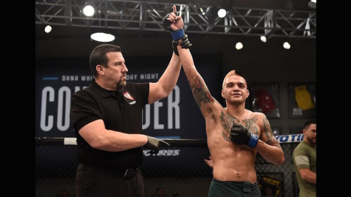 Benito Lopez Fined $1000 For UFC Fight Night Fresno Weigh-In Physicality