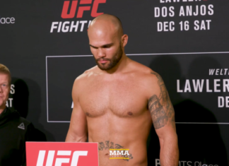 UFC on FOX 26 Weigh-ins