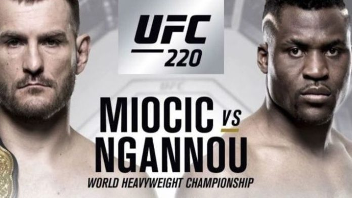 UFC: Stipe Miocic sets UFC record with title defence against Francis Ngannou