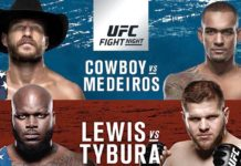 Fight Night Cowboy Medeiros