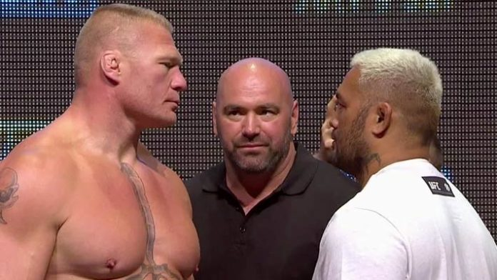 Dana White Comments On Brock Lesnar Possibly Fighting In UFC This Year