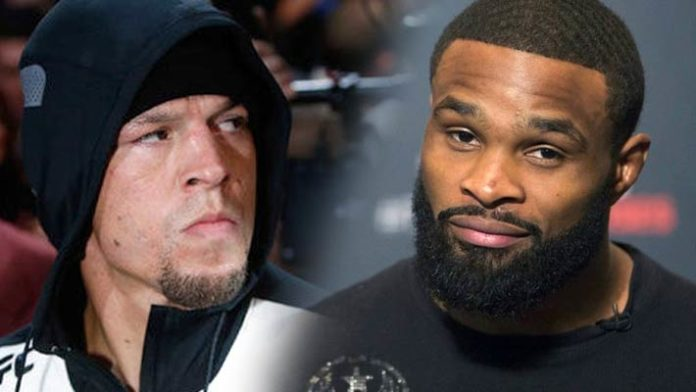 Nate Diaz: And now, Tyron Woodley is my best option