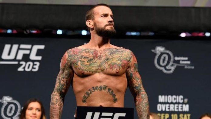 Is CM Punk gearing up for 2nd UFC fight?