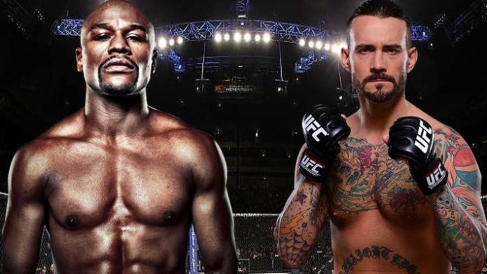 CM Punk Is Already Favored Big Over Floyd Mayweather In The UFC
